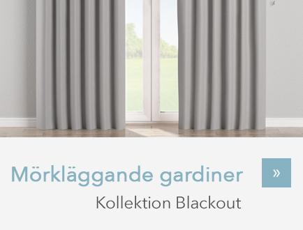 Mörkläggande gardiner